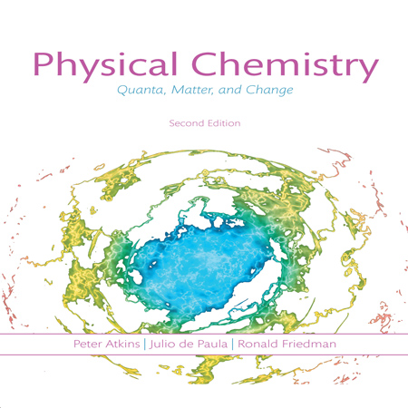 Physical Chemistry: Quanta Matter and Change 2nd Edition شیمی فیزیک اتکینز