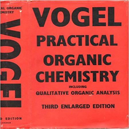 دانلود کتاب شیمی آلی کاربردی وگل ویرایش 3 سوم Vogel