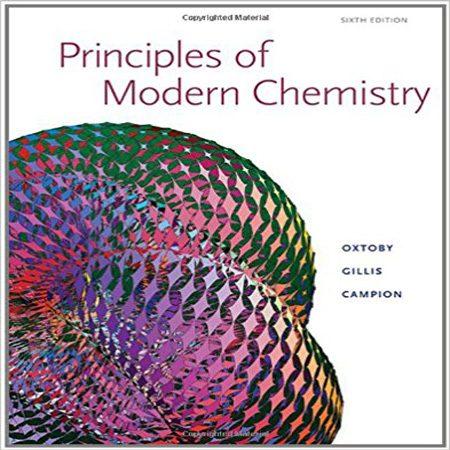 دانلود Principles of Modern Chemistry کتاب مبانی شیمی مدرن ویرایش 6 Oxtoby