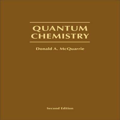دانلود کتاب شیمی کوانتوم مک کواری ویرایش 2 Quantum Chemistry