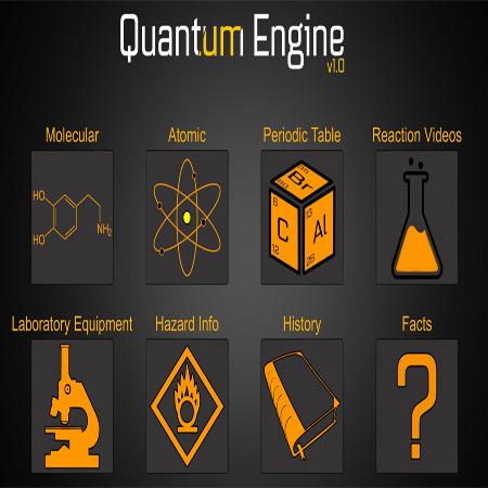 دانلود Quantum Engine 1.0 نرم افزار جامع آموزش شیمی و آزمایشگاه