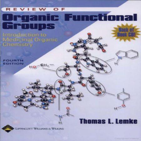 Review of Organic Functional Groups کتاب مروری بر گروه های عاملی شیمی آلی دارویی ویرایش 4
