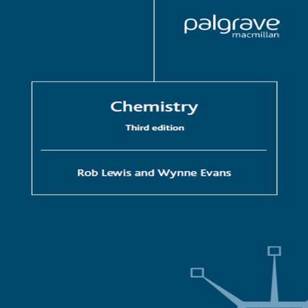 دانلود کتاب Chemistry R.Lewis, W.Evans شیمی عمومی لوئیس ایوانز ویرایش 3