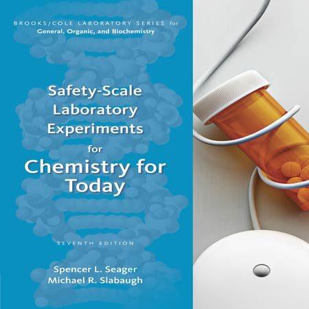 کتاب آزمایش های Safety-Scale مقیاس ایمنی برای شیمی امروز ویرایش 7 سیگر Seager