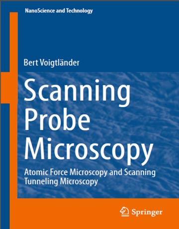 کتاب میکروسکوپ پروبی روبشی: میکروسکوپ نیروی اتمی و میکروسکوپ تونلی روبشی Voigtlaender