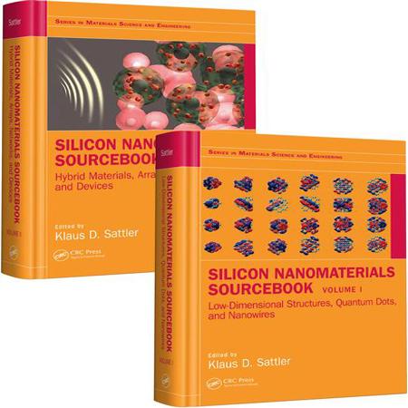 دانلود Silicon Nanomaterials Sourcebook کتاب منبع نانو مواد سیلیکون جلد 1 و 2 Sattler