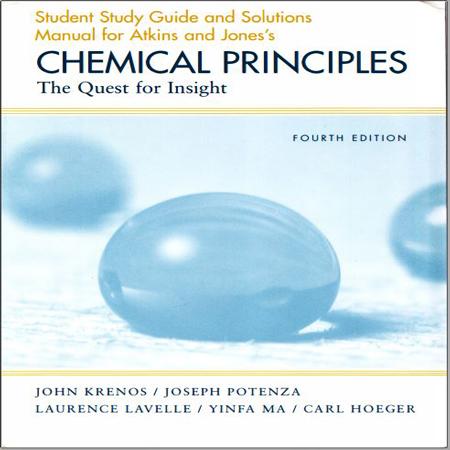 دانلود حل المسائل اصول شیمیایی و شیمی عمومی اتکینز و جونز ویرایش چهارم