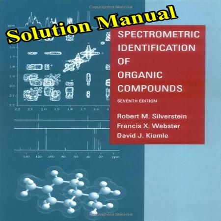 دانلود حل المسائل کتاب طیف سنجی ترکیبات آلی سیلور اشتاین ویرایش 7
