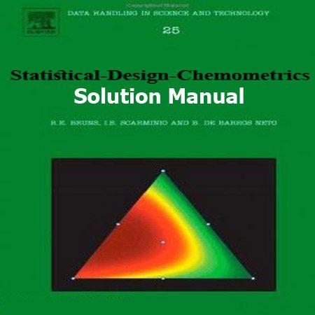 دانلود حل المسائل کتاب طراحی آماری کمومتریکس ویرایش 1