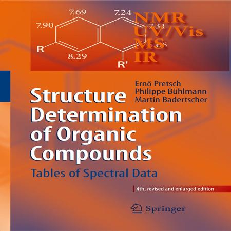 دانلود کتاب تعیین ساختار ترکیبات آلی با استفاده از NMR , IR , UV/Vis , MS