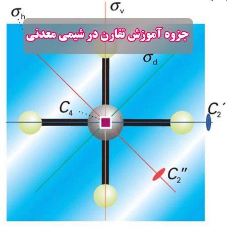 دانلود جزوه آموزش جامع تقارن در شیمی معدنی 1 و 2 + حل تمرین و مثال