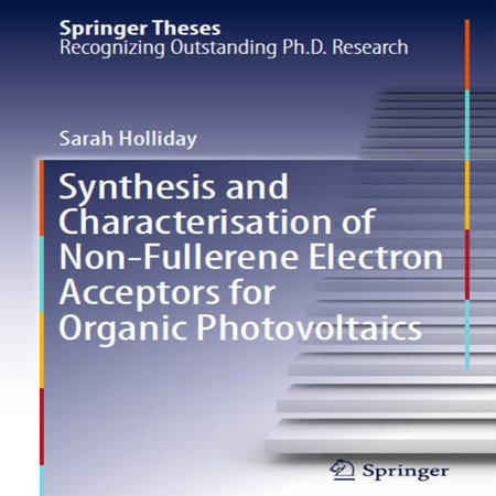 کتاب سنتز و تعیین مشخصات گیرنده های الکترونی غیر فولرن برای فتوولتائیک آلی