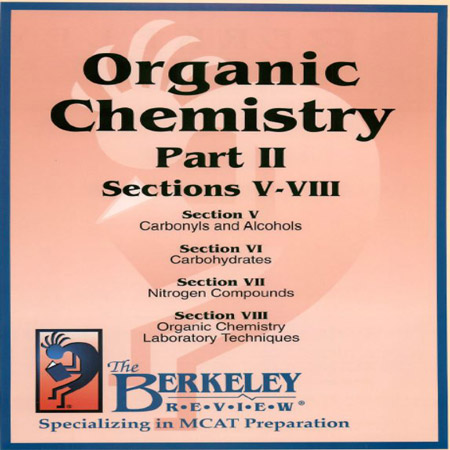 The Berkeley Review MCAT Organic Chemistry Part 2 کتاب شیمی آلی