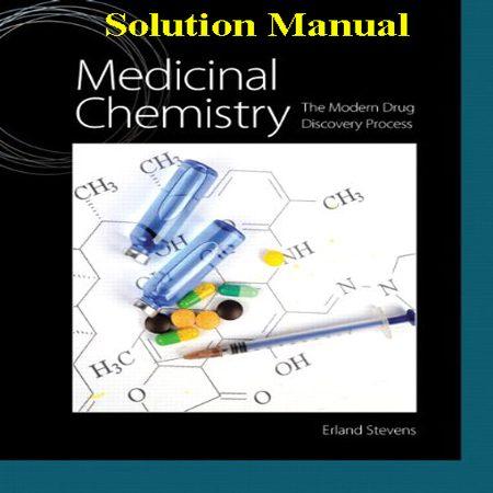 دانلود حل المسائل و تمرین کتاب شیمی دارویی و فرایند کشف داروی مدرن Erland Stevens