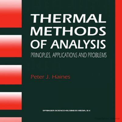 دانلود کتاب روش های آنالیز حرارتی هاینس + حل المسائل Thermal methods of analysis