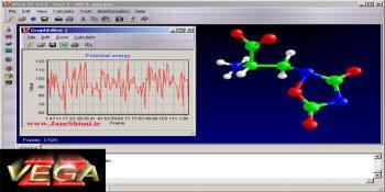 دانلود VEGA ZZ3.1.1.42 نرم افزار مدل سازی مولکولی و طراحی دارو