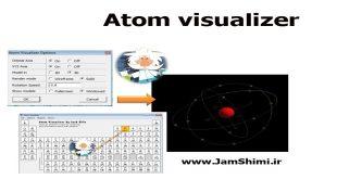 دانلود Atom visualizer نرم افزار نمایش سه بعدی ساختار اتم