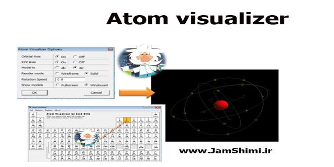 Photo of دانلود Atom visualizer نرم افزار نمایش سه بعدی ساختار اتم