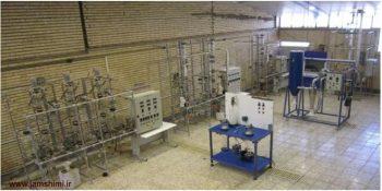 دانلود گزارش کار آزمایشگاه انتقال حرارت مهندسی شیمی