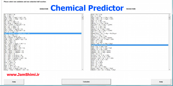 Photo of دانلود Chemical Predictor 3.0 نرم افزار پیشگویی انجام واکنش های اکسایش کاهش الکتروشیمی