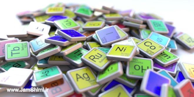عناصر شیمیایی از جدول تناوبی که در خانه یافت می شود