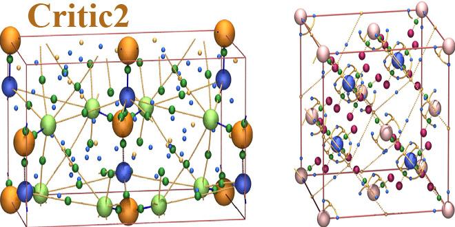 دانلود Critic2 نرم افزار آنالیز و محاسبه ساختارهای الکترونیکی و کوانتومی شیمی