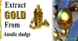 استخراج نانو کره های طلا از لجن آندی مس در دانشگاه صنعتی امیر کبیر