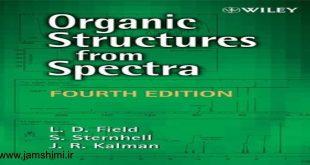 دانلود کتاب طیف سنجی ترکیبات آلی فیلد و کالمن Leslie D. Field, John R. Kalman