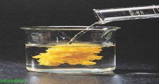 روش تشخیص حالت فیزیکی مواد در واکنش های شیمیایی