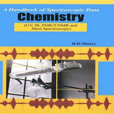 دانلود کتاب مرجع داده های اسپکتروسکوپی و طیف سنجی