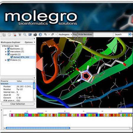 دانلود Molegro Virtual Docker v4.2.0 Linux نرم افزار داکینگ مولکولی + کرک و لایسنس