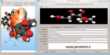 دانلود OpenBabel 2.4.1 نرم افزار نمایش اطلاعات و ساختار ترکیبات شیمی و بیوشیمی