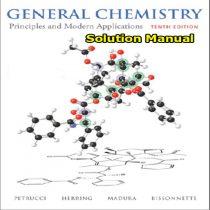 دانلود حل المسائل و تمرین شیمی عمومی پتروچی ویرایش 10 Petrucci Solution Manual