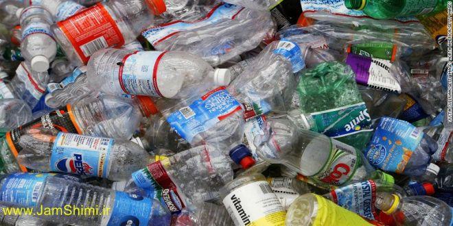 تجزیه بطری های پلاستیکی با نوعی آنزیم طبیعی