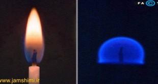 آیا شمع می تواند در جاذبه صفر روشن شود وبسوزد