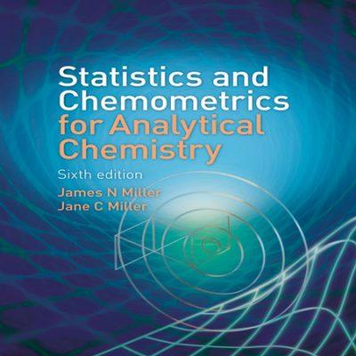 دانلود کتاب آمار و کمومتریکس برای شیمی تجزیه میلر ویرایش 6