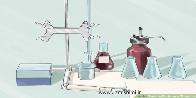 دانلود گزارش کار تیتراسیون اسید و باز آزمایشگاه شیمی عمومی