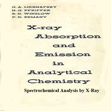 دانلود کتاب جذب و انتشار اشعه ایکس در شیمی تجزیه x-ray absorption and emission